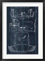 Framed Boat Launching Blueprint I