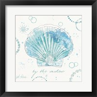 Coastal Splash II Framed Print