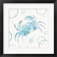 Coastal Splash IV Framed Print