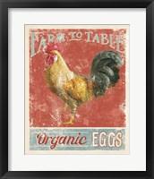 Framed Farm Nostalgia V
