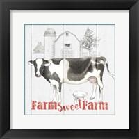 Farm To Table IV Framed Print