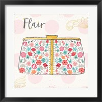 Fashion Blooms I Framed Print
