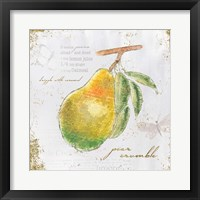 Garden Treasures III Framed Print