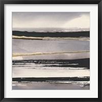 Framed Gilded Grey I