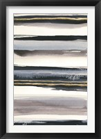 Gilded Grey IV Framed Print