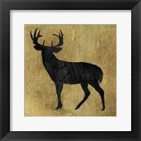 Golden Lodge I Framed Print