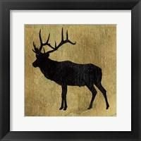 Golden Lodge IV Framed Print