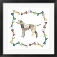 Good Dog II Framed Print