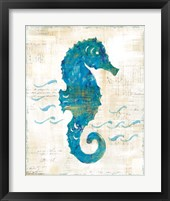 On the Waves III Framed Print