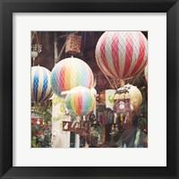 Paris Moments I Framed Print