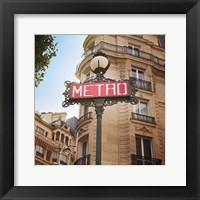 Framed Paris Moments VII