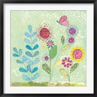 Framed Pattys Garden II
