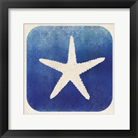 Watermark Starfish Framed Print