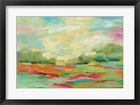 Framed Sunny Fields