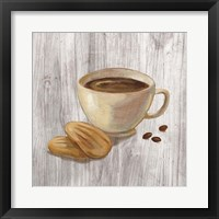 Coffee Time II on Wood Framed Print