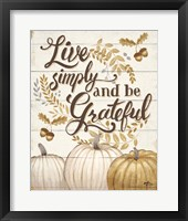 Framed Grateful Season I