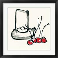 Framed Tea and Cherries