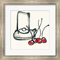 Framed Tea and Cherries