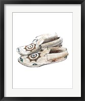 Framed Indian Moccasins