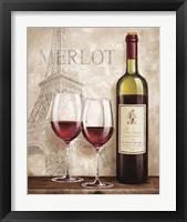 Framed Wine in Paris III