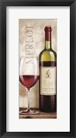 Framed Wine in Paris V