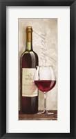 Framed Wine in Paris VI