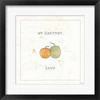 Harvest Cuties I Framed Print