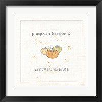 Harvest Cuties III Framed Print