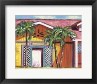 Framed Cayman Colors