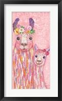 Mia & Maya Framed Print