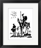 Framed Don Quixote