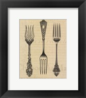 Framed French Forks
