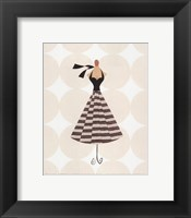 Framed Tres Chic I