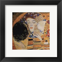 Framed Kiss, ca. 1907