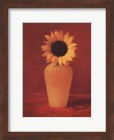 Framed Sunflower Still Life