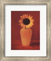 Framed Sunflower Still Life