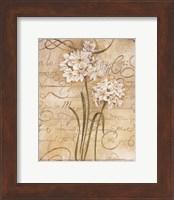 Framed Calligraphy Narcissus