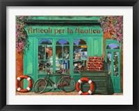 Framed La Bicicletta Rossa