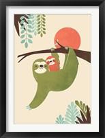 Framed Mama Sloth