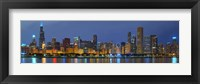 Framed Chicago Skyline