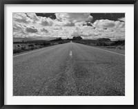 Framed Monument Valley Road
