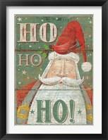 Framed Ho Ho Ho