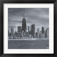 Framed Chicago Square