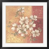 Framed Beautiful Magnolias