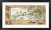 Framed Chickadee