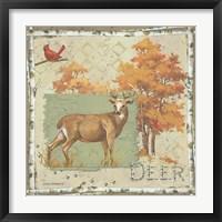 Deer / Deer / Elk Framed Print