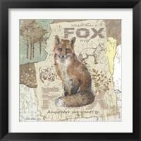 Framed Fox Trot
