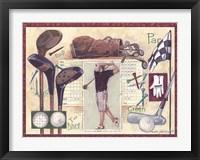Framed Golf Swing