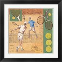 Framed Volley