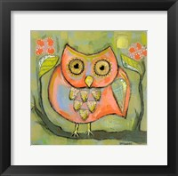 Framed Love Shy Owl